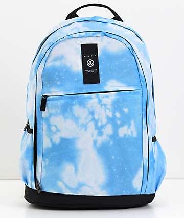 Neff Daily XL  mochila azul blanqueada