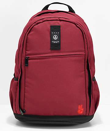 Neff Daily XL Maroon Backpack