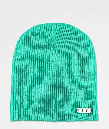 Neff Daily gorro verde azul
