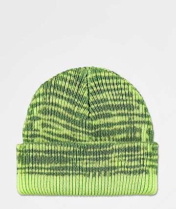 Neff Daily gorro verde de dos tonos