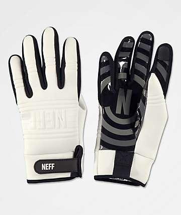 Neff Daily guantes de snowboard para pipe en blanco