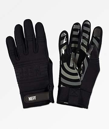 Neff Daily guantes de snowboard para pipe en negro y gris