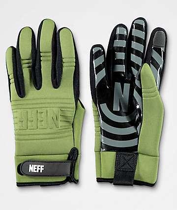 Neff Daily guantes de snowboard verdes