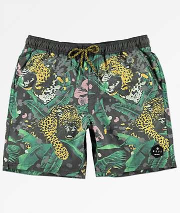 "Neff Danger Paradise 18"" shorts de baño"
