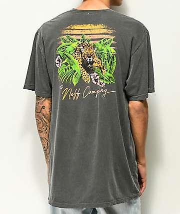 Neff Danger Paradise camiseta con lavado negro