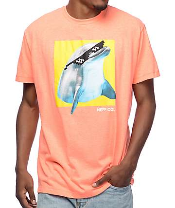 Neff Did It On Porpoise Peach T-Shirt