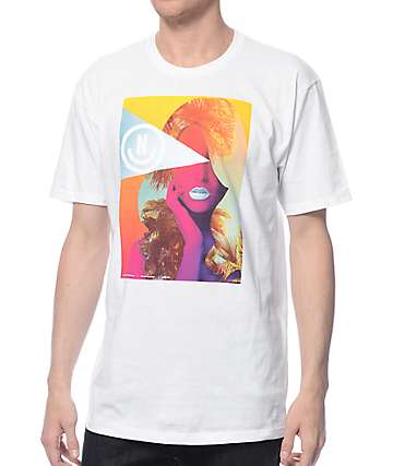 Neff Domino White T-Shirt