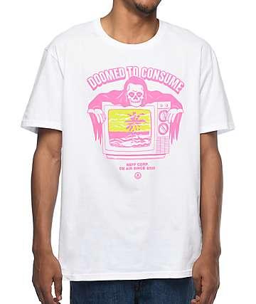 Neff Doomed To Consume White T-Shirt