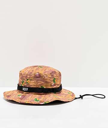 Neff Ducky Foscoe Boonie Camo Bucket Hat