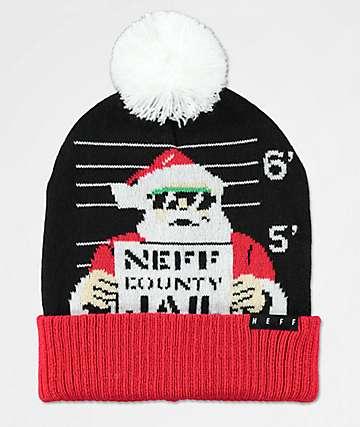 Neff Feliz Navidad Bad Santa Beanie