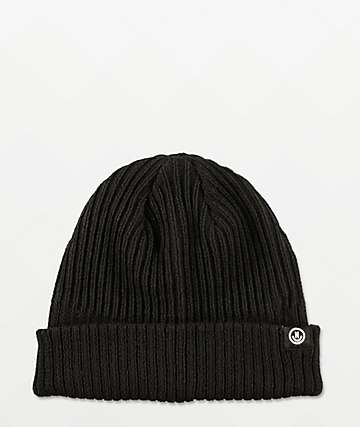 Neff Fisherman Black Beanie