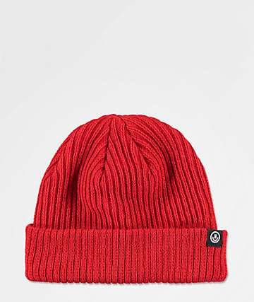 Neff Fisherman Crimson Beanie