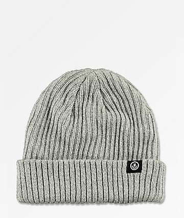 Neff Fisherman Grey Beanie