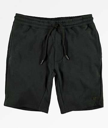 Neff Flow shorts de punto negro