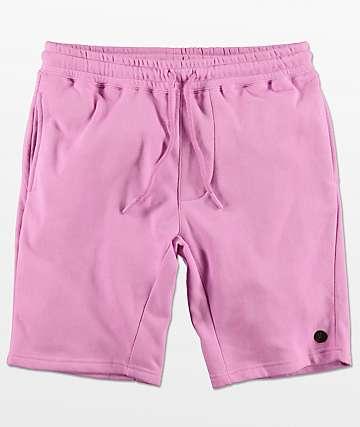 Neff Flow shorts de punto violeta