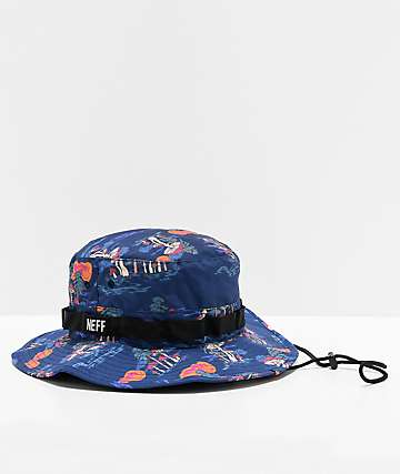 Neff Funland Foscoe Boonie Blue Bucket Hat