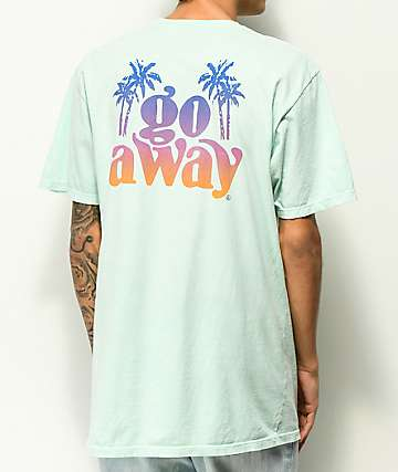 Neff Go Away camiseta de color menta