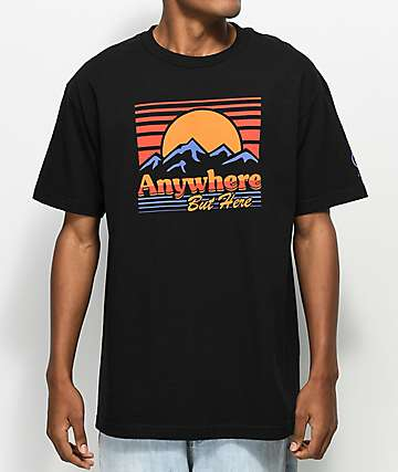 Neff Go Outside Black T-Shirt
