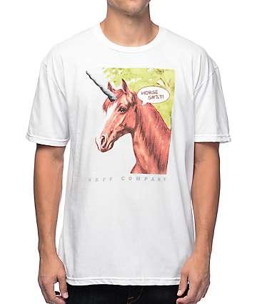 Neff Horse Shiz White T-Shirt