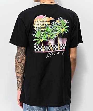 Neff Life's A Trip Black T-Shirt