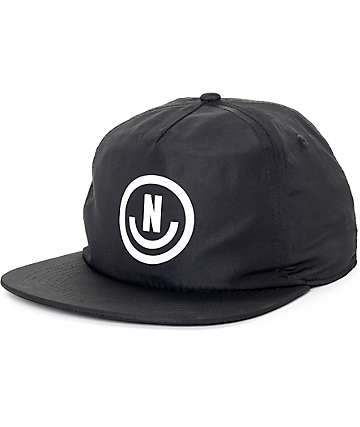 Neff Neffection Black Snapback Hat
