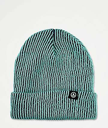 Neff Nightly Serge Blue Glow In The Dark Beanie
