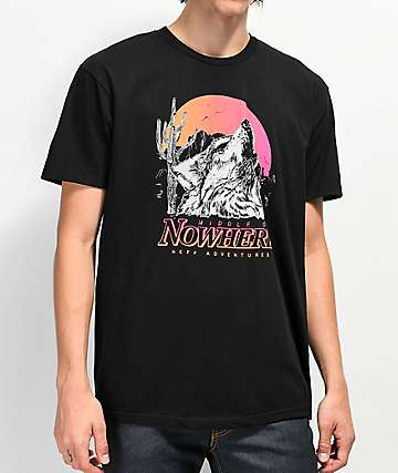 Neff Nowhere Black T-Shirt