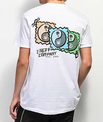 Neff Palm Yang White T-Shirt