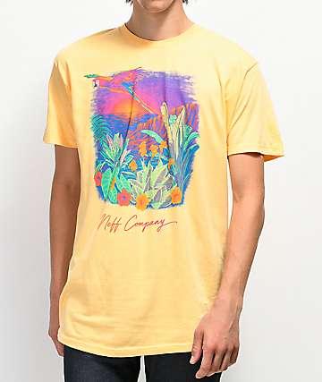 Neff Paradise Cove Squash camiseta naranja