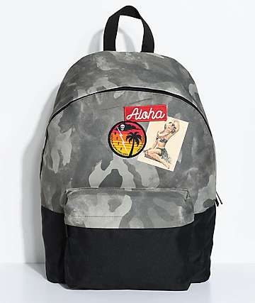 Neff Professor Camo Backpack