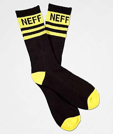 Neff Promo Black Amber Crew Socks