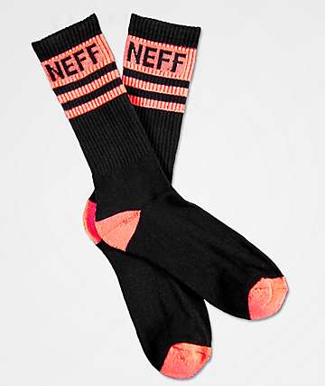 Neff Promo Infared calcetines negros