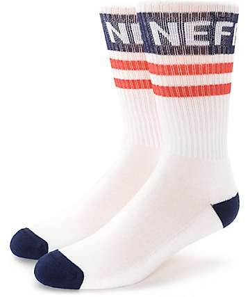 Neff Promo Red, White & Blue Crew Socks