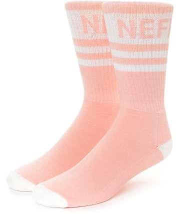 Neff Promo calcetines en blanco y melocotón