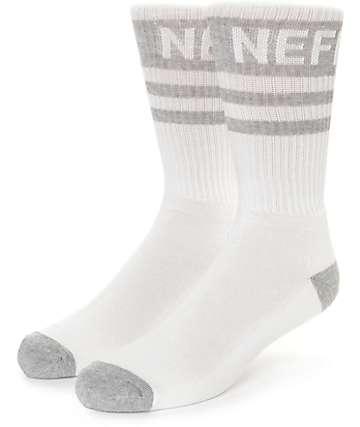 Neff Promo calcetines en gris y blanco