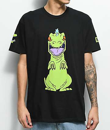 Neff Reptar Rugrats camiseta negra
