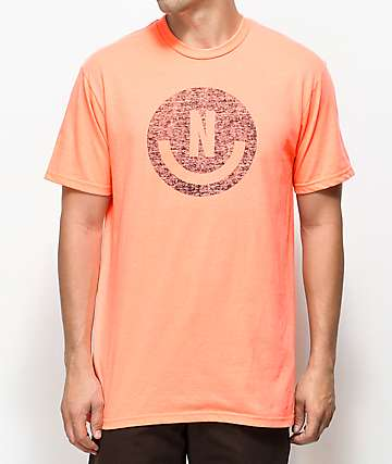 Neff Smiley Coral T-Shirt