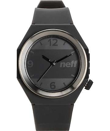 Neff Stripe Gunmetal & Black Watch