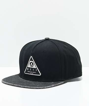 Neff X Wash Black Snapback Hat