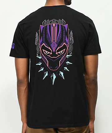 Neff x Black Panther Face Black T-Shirt