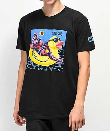 Neff x Marvel Ducky Shades camiseta negra