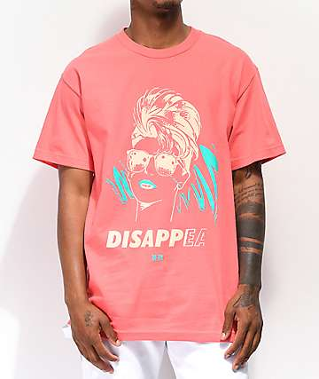 Never Made Disappear Coral T-Shirt