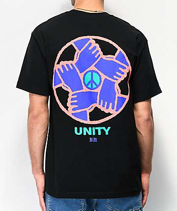 Never Made Unity 2 Black T-Shirt