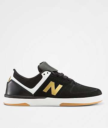 New Balance 533 V2 Black & Gold Skate Shoes