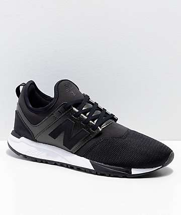 New Balance Lifestyle 247 Black & White Shoes