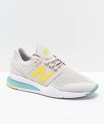 New Balance Lifestyle 247v2 Tritium Moonbeam & Sage zapatos