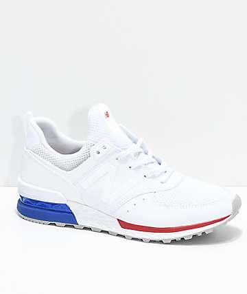 Sport zapatos y Balance rojos New blancos Lifestyle azules 574 qnTZWOCt