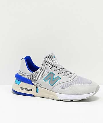 New Balance Lifestyle 997 Sport Light Aluminum & Bayside Shoes