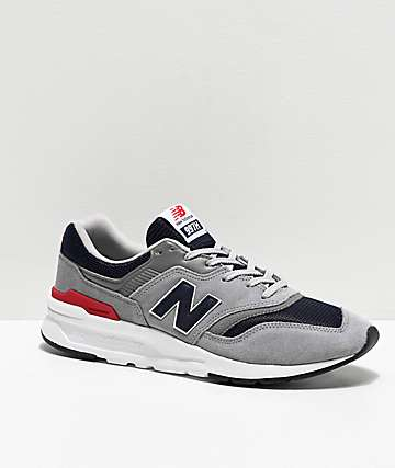 New Balance Lifestyle 997H Team Away Grey, Navy & White Shoes
