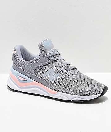 New Balance Lifestyle X-90 Arctic Sky & Himalayan Pink Shoes
